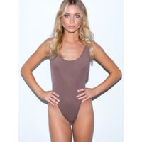 Princess PollyWomens Heart Strings One Piece Brown 10