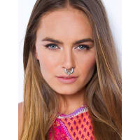 Princess PollyWomens Higher Love Septum Ring Silver One Size