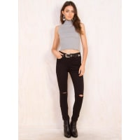 Princess PollyWomens The Burbs Jeans Black 6