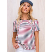 Princess PollyWomens The Laid Back Tee Navy/Red 10