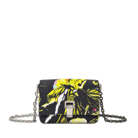 Proenza SchoulerExtra Small Courier-Floral Print On Satin Crepe