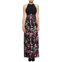 Proenza SchoulerTropical-Print Sleeveless Maxi Dress, Navy/Red/Pink