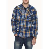 Projek RawCheck flannel shirt Semi-tailored fit