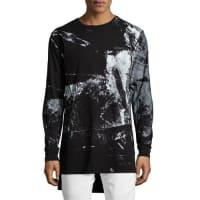 PrpsAbstract Long-Sleeve T-Shirt, Black