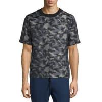 Public SchoolCamouflage-Print Short-Sleeve T-Shirt