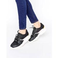 PumaR698 Sneakers In Black And Pink - Black