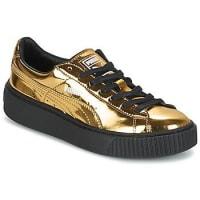 PumaSneakers basse Puma WNS BASKET PLATFORM.GOLD
