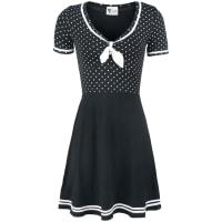 Pussy DeluxeSailor Dotties Kleid schwarz