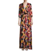 Rachel PallyIngrid Printed Tie-Waist Maxi Dress
