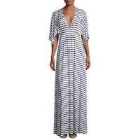 Rachel PallyStriped Caftan Maxi Dress