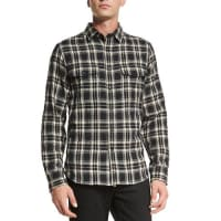 Rag & BoneJack Plaid Button-Down Shirt, Black