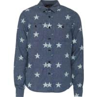 Ralph LaurenBluse mit Sternen-Print blau
