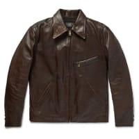 Ralph LaurenMorrow Leather Jacket - Braun