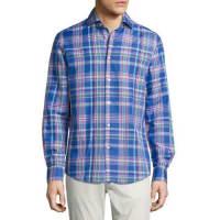 Ralph LaurenPlaid Woven Shirt, Bright Blue
