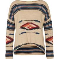Ralph LaurenPullover mit Ethnomuster weiß / mischfarben