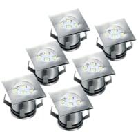 RanexMIA LED GRONDSPOTS KLEIN 6PACK RVS MIA 5000.476