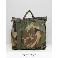 Reclaimed VintageCamo Tote Bag - Green