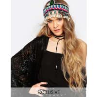 Reclaimed VintageShell Head - Kleid - Mehrfarbig