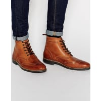 RedtapeBrogue Boots - Brown