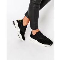 ReebokBlack Furylite Slip On With Speckled Sole - Schwarz
