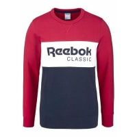 ReebokSweatshirt »Archive Stripe Crew« rot