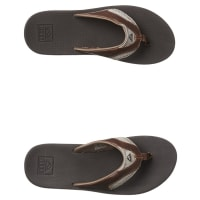 ReefLeather Fanning Thong Brown