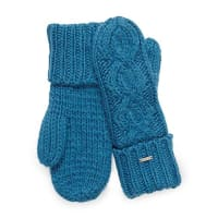 RellaCable knit mittens