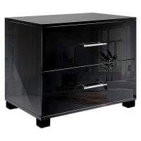 Resort LivingChambers Bedside Table, Black