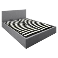 Resort LivingClarence Storage Double Bed, Grey