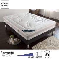 RêverieMatelas latex, grand confort ferme, 5 zones