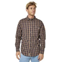 RhythmFrankie Ls Mens Shirt Blue