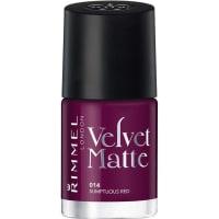 Rimmel LondonMake-up Nägel Velvet Matte Nailpolish Nr. 016 Purple Opulence 12 ml