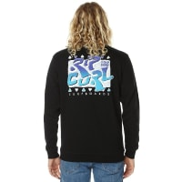 Rip Curl100 Percent Rad Mens Crew Black