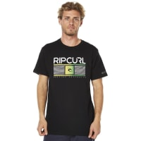 Rip CurlPursuit Mens Tee Black