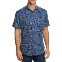 Robert GrahamColonel Tigh Short Sleeve Classic Fit Button-Down Shirt