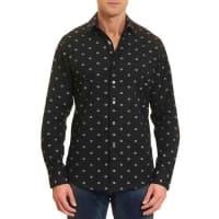 Robert GrahamInland Empire Sport Shirt, Black