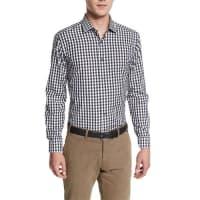 Robert GrahamRalph Long-Sleeve Plaid Woven Shirt, Black