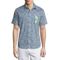 Robert GrahamSunglass Valley Printed Short-Sleeve Sport Shirt, Multi