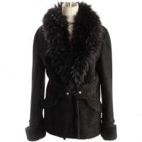 Roberto CavalliPre-Owned - Black Fur Jacket