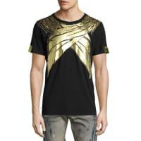 Robin's JeansMetallic Wings T-Shirt, Black