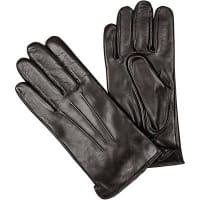 RoecklHerren Handschuhe Leder dunkeklbraun