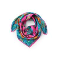 RoecklScarf Nicki Elephant in 100% silk from Roeckl bright pink