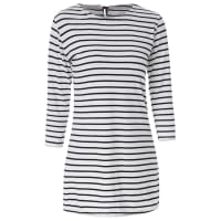 SammydressScoop Neck Long Sleeves Striped Casual Dress For Women