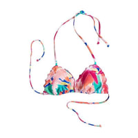 RoxyTiki Triangle - Bikini Oberteil für Damen - Mehrfarbig