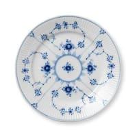ROYAL COPENHAGENBlue Fluted plain plate Ø 19 cm