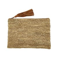 Rue StiicArtisan Clutch Brown
