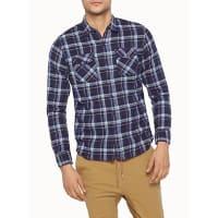 RumorsHunter check shirt Semi-tailored fit
