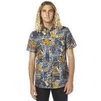 RustyBerlin Ss Mens Shirt Blue