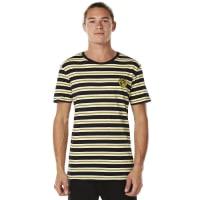RustyMinions Striped Short Sleeve Tee Yellow