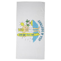 RvcaSea And Destroy Towel White